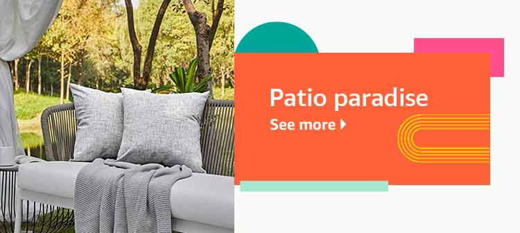 Reinvent your patio