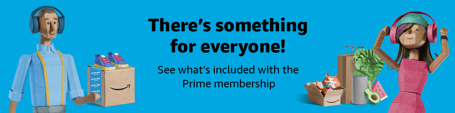 Shop, stream, read and more See what's included with the Prime membership