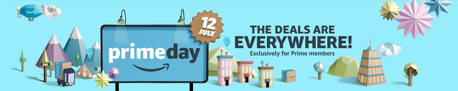 Prime Day is July 12th!