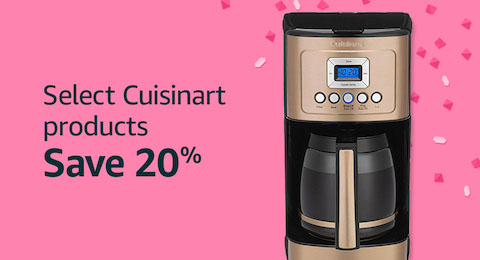20% off Cuisinart products