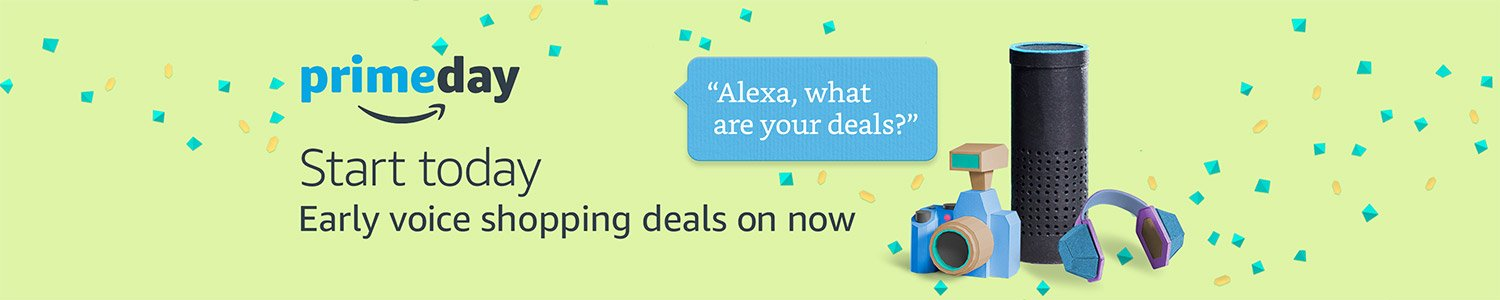 Prime Day: Early voice shopping deals