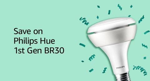 Save on Philips Hue 1st Gen BR30