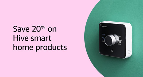 Save 20% on Hive smart home products