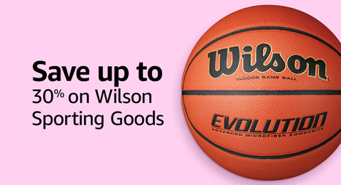 Save up to 30% on Wilson Sporting Goods
