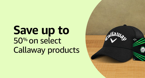 Save up to 50% on select Callaway products