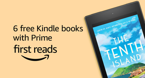 6 free Kindle books with Prime
