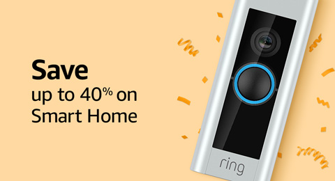 Save up to 40% on Smart Home