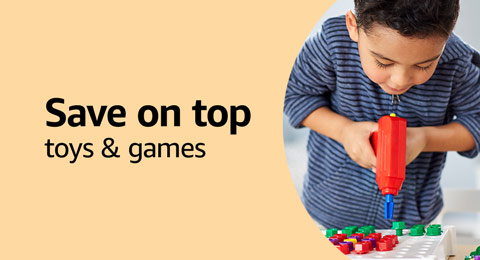 Save on top toys and games