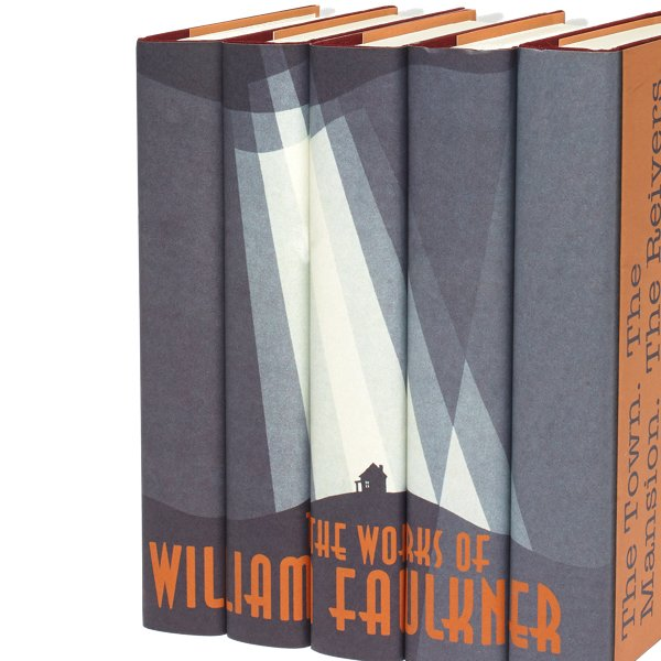 William Faulkner Book Set