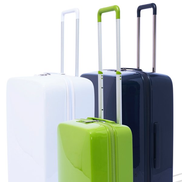 Beautiful smart luggage set