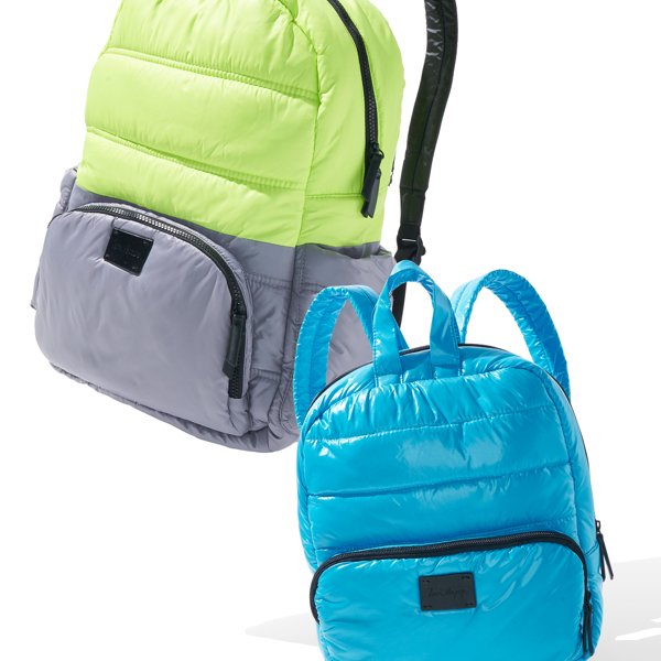 Mommy and Me puffer backpacks