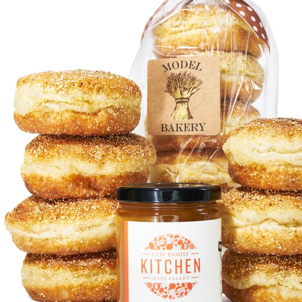 English Muffins & Preserve Set