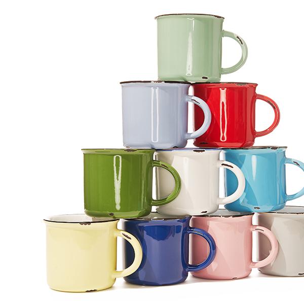 Canvas Home Tinware Mugs