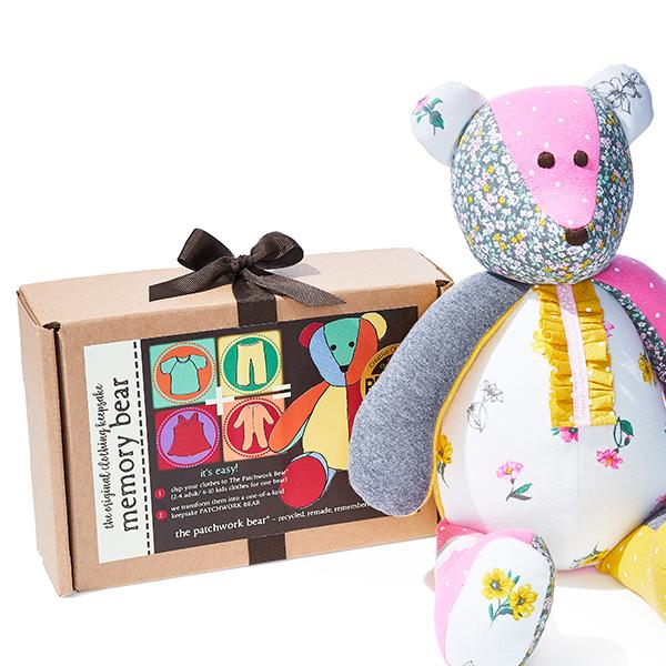 Patchwork Bear Memory Kit