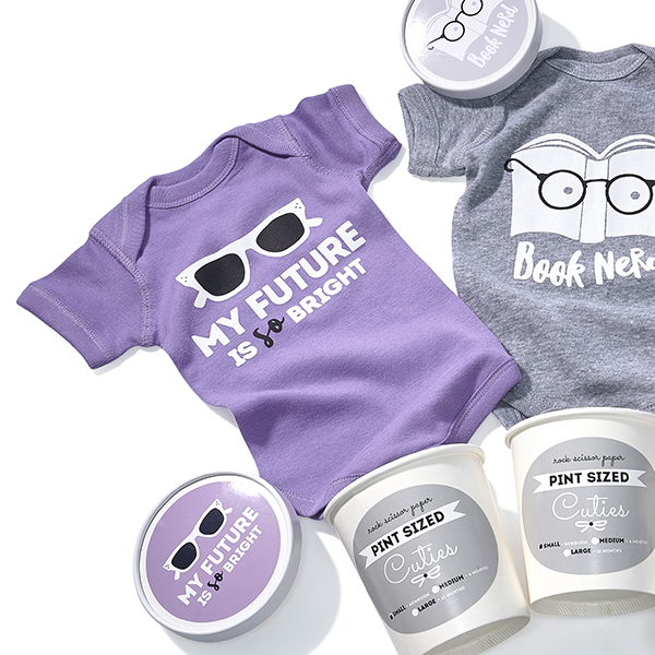 Pint Sized Baby Body Suits