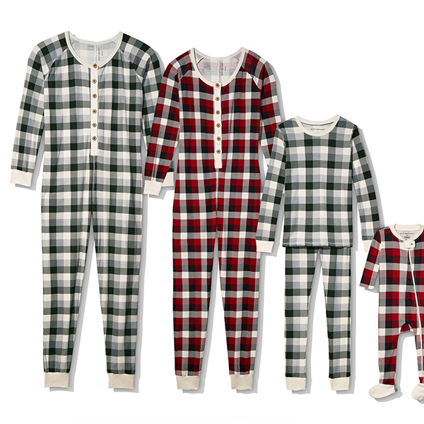 Burt's Bees Baby Holiday Family Jammies