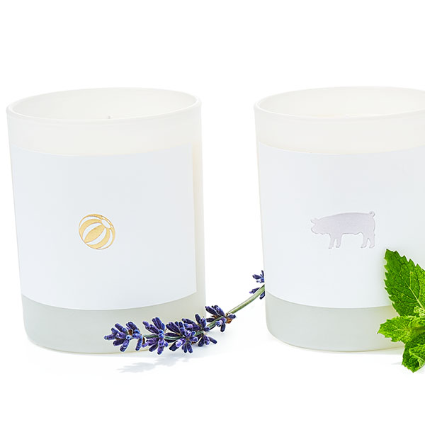 Scented candles by Joya