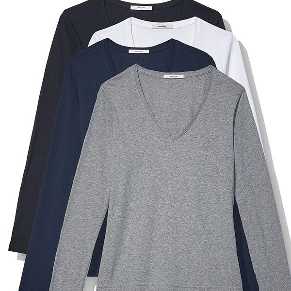 Adam Lippes V-neck T-shirts