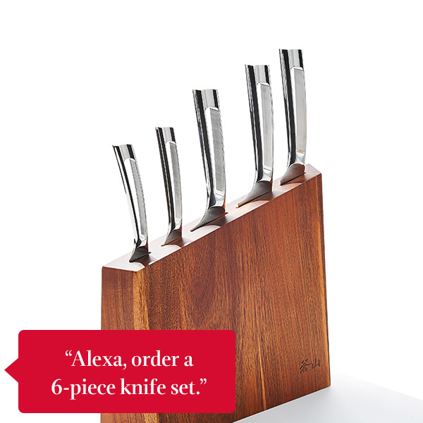 Cangshan six-piece knife and mountain block set
