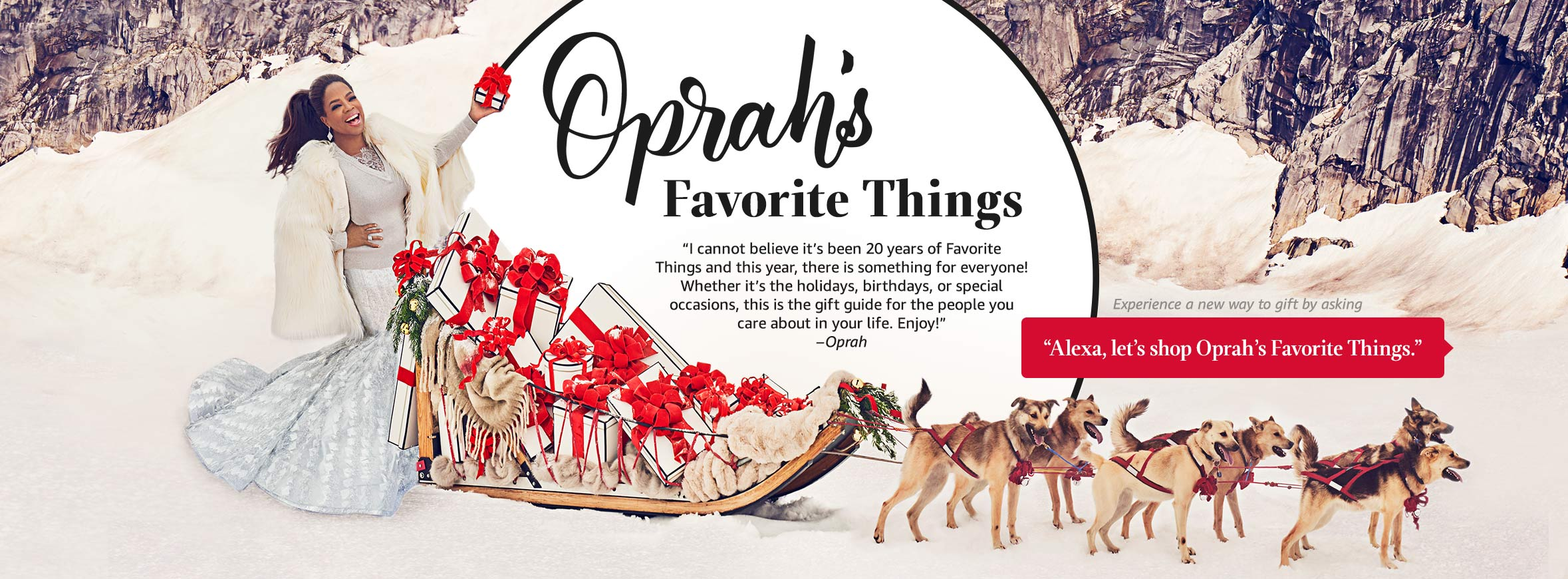 Oprah's Favorite Things Amazon Gift Guide