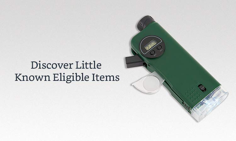 Discover Little Known Eligible Items