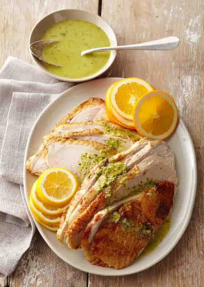 Citrus Marinated Turkey Breast