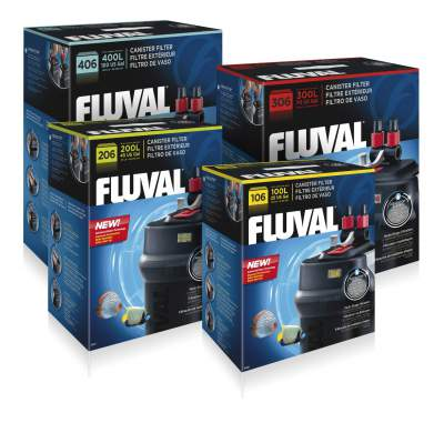06 Series Fluval Canister Filters