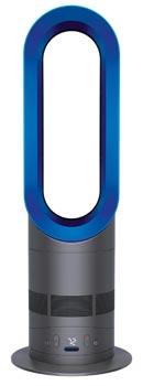 dyson am05 hot cool fan heater blue. Black Bedroom Furniture Sets. Home Design Ideas