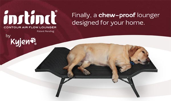 Kyjen Outward Hound Instinct Air Flow Bed Large Black