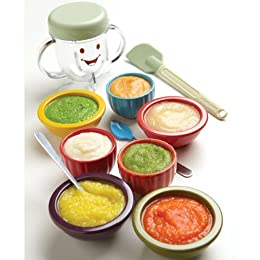 Amazon magic bullet baby bullet baby care system baby food make a variety of wholesome purees forumfinder Choice Image