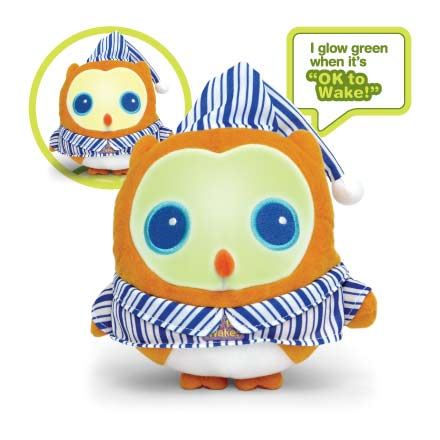 OK to Wake! Owl is a cuddly friend that helps kids and parents get more sleep! For parents, every extra minute of sleep is a luxury.
