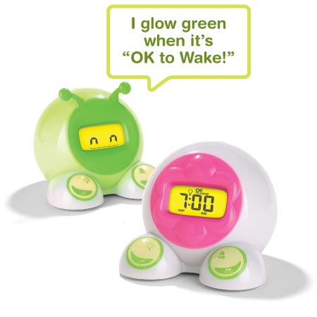 OK to Wake! helps kids stay in bed longer