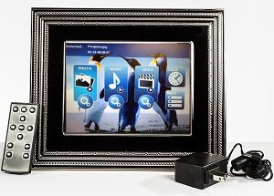 8 inch vera wang love noir digital photo frame