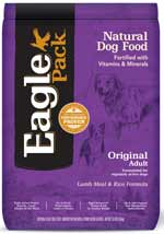 Eagle Pack Original Lamb Meal and Rice Dog Food