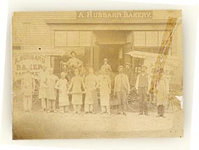 Old Mother Hubbard old historical company photo