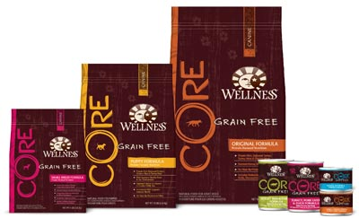 Wellness Core Dog Products