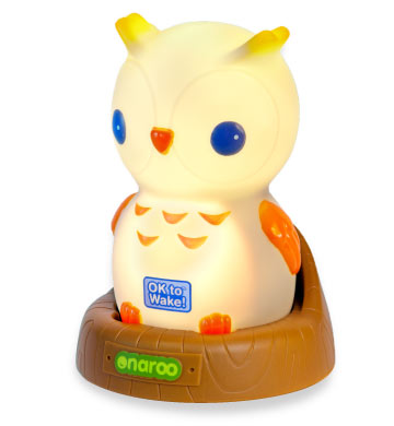 Night-Owl Portable Night-Light with OK to Wake!