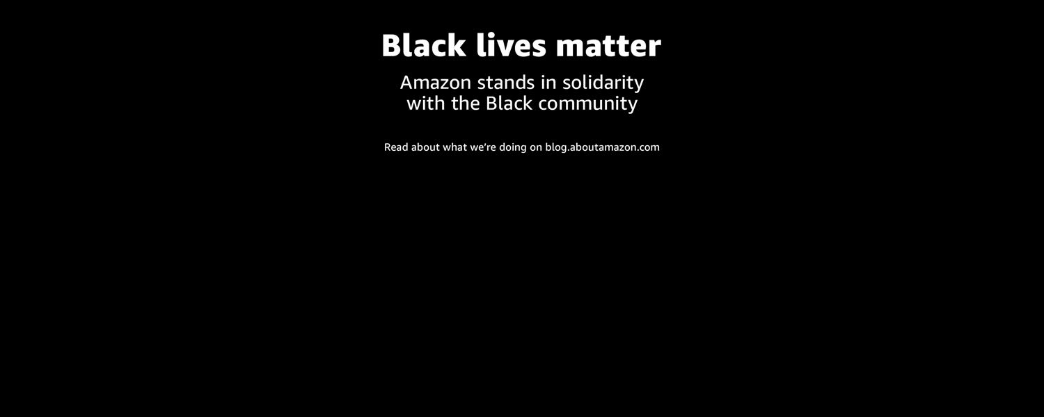 Amazon stands in solidarity with thre Black community - Learn more