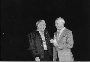 Johnny Carson with Frank Sinatra