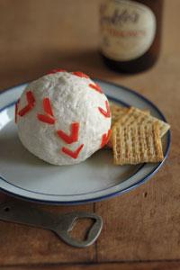 White Cheddar–Horseradish Baseball