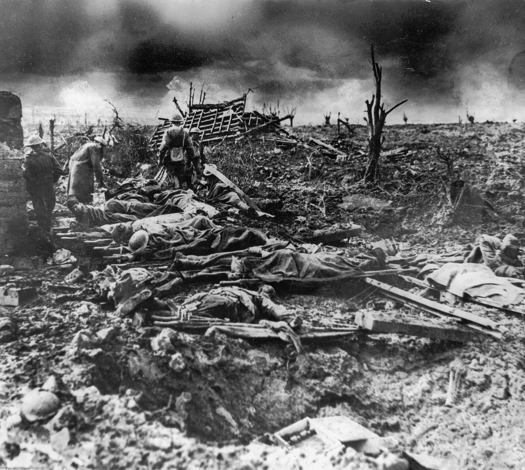 essay on the battle of passchendaele