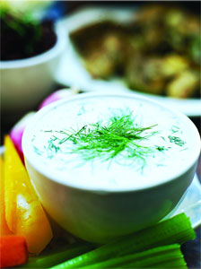 Dilled Yogurt Dip