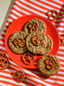 Pretzel Chocolate Chunk Cookies