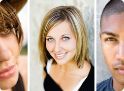 A sample collection of headshots