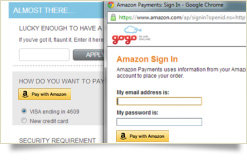 Use your Amazon account to login…