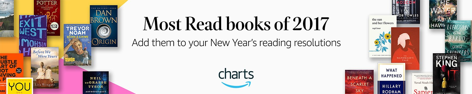 Most Read books of 2017