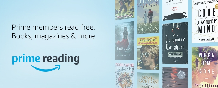 Prime reading. Prime members read free. Books, magazines and more.