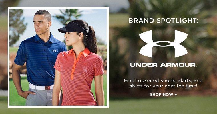 Hero - Golf UA Spotlight
