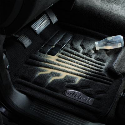 Lund 783136-G Catch-It Carpet Grey Rear Seat One Piece Floor Liner