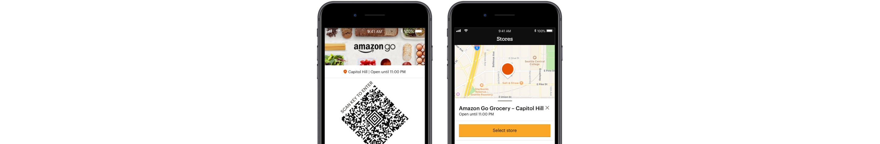 Amazon Go App images